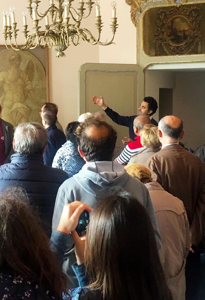 Visita guidata al castello - attività ed iniziative del castello di San Giorgio Monferrato