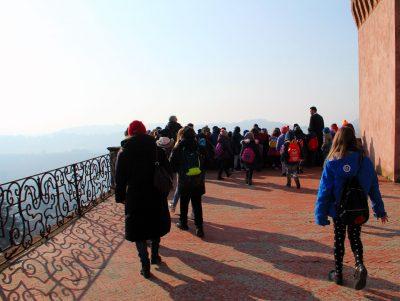 Bambini al Castello di San Giorgio Monferrato