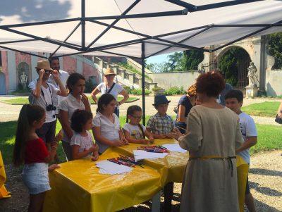 Laboratori ed attività per bambini al Castello di San Giorgio Monferrato - visite per gruppi e bambini