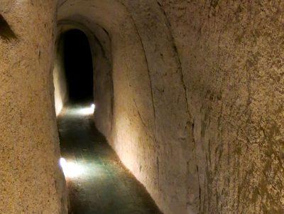 Cunicolo sotterraneo del Castello di San Giorgio Monferrato - visite guidate