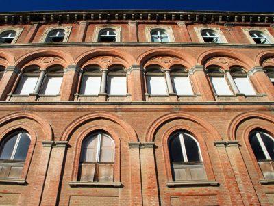 Fronte meridionale del Castello di San Giorgio Monferrato - visite guidate