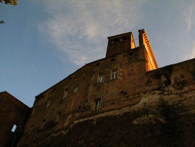 La torre ottocentesca del Castello di San Giorgio Monferrato - visite guidate